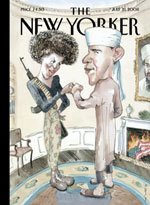 The New Yorker Obama Cover