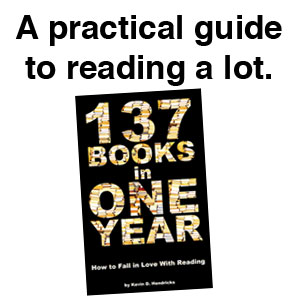 137 Books in One Year promo graphic
