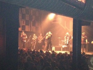 Five Iron Frenzy on stage