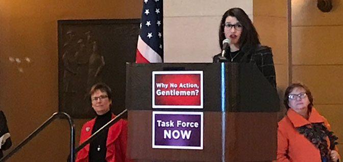 Sexual Misconduct in Minnesota Politics: Lindsey Port Speech