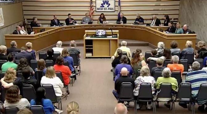 June 11, 2018 West St. Paul city council meeting