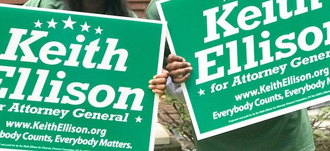 2018 Minnesota Attorney General: Keith Ellison vs. Doug Wardlow