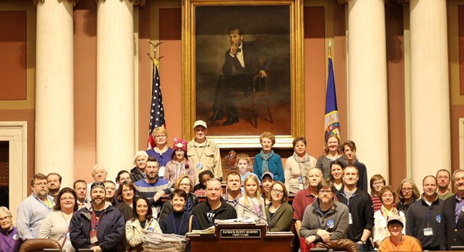 West St. Paul Day at the Capitol with Rick Hansen and Matt Klein