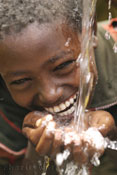 This is the face of clean water.