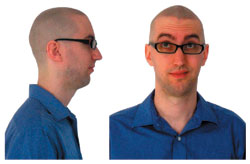 Bald Kevin: A blank canvas for you to work with.