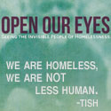 Open Our Eyes: Seeing the Invisible People of Homelessness