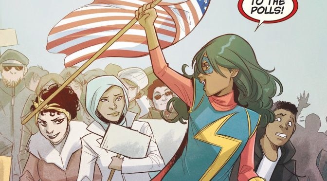 Ms. Marvel: To the polls!