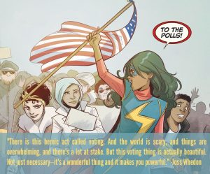 Ms. Marvel & Joss Whedon on voting