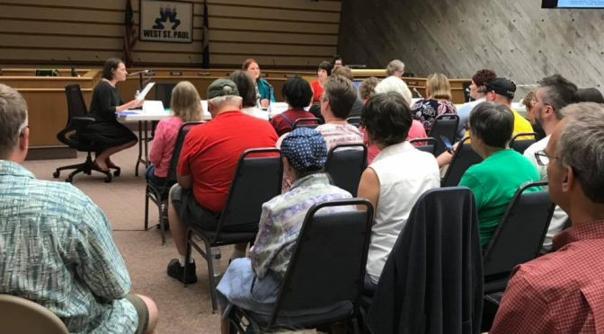 West St. Paul candidate forum (photo by Katie Dohman)