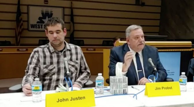 Ward 2 city council forum: John Justen and Jim Probst