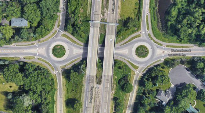 West St. Paul roundabouts