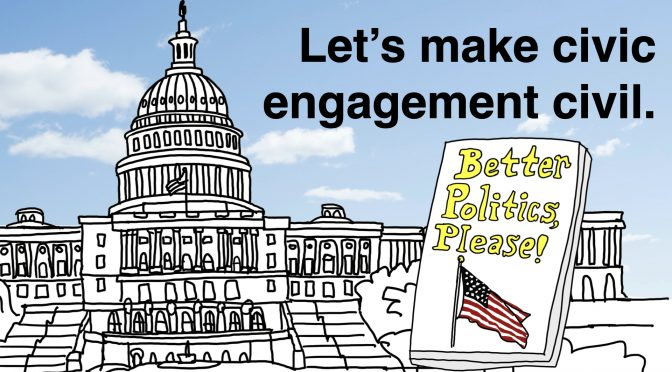 Let's make civic engagement civil.