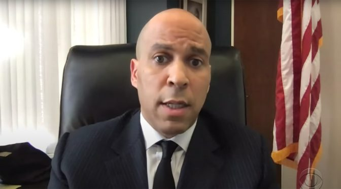 Cory Booker: George Floyd Is a Referendum on Us