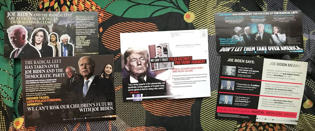 2020 political mailers