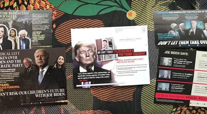 Political Scare Postcards