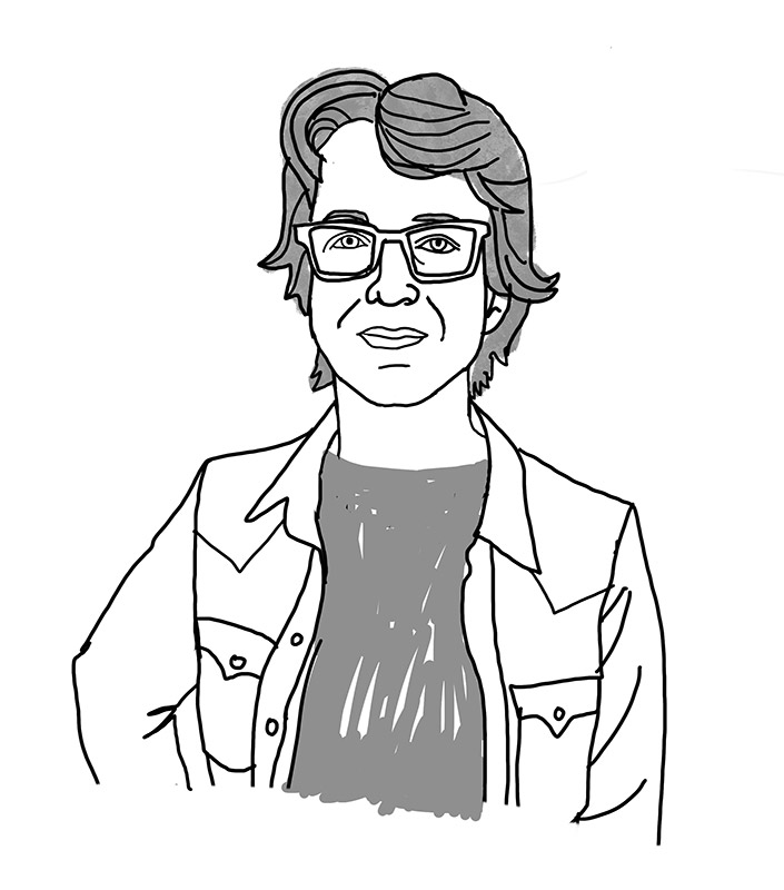 Illustration of Carolyn Swiszcz by Carolyn Swiszcz