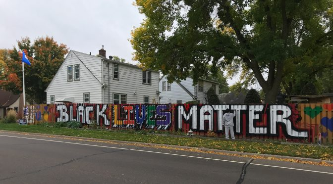 West St. Paul's Black Lives Matter Mural